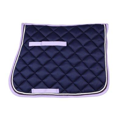 Pfiff Dressage Saddle Cloth Leoben Blue/Lilac