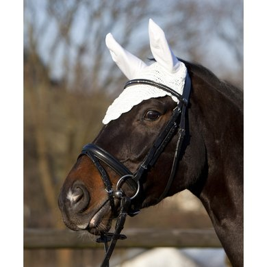 Pfiff Fly Bonnet White Full