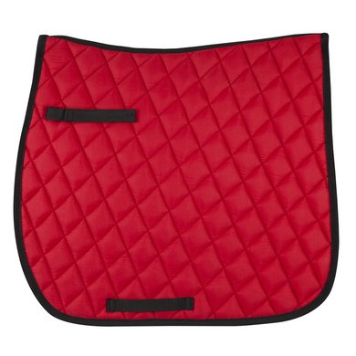Pfiff Dressage Saddle Cloth Basic Line Red