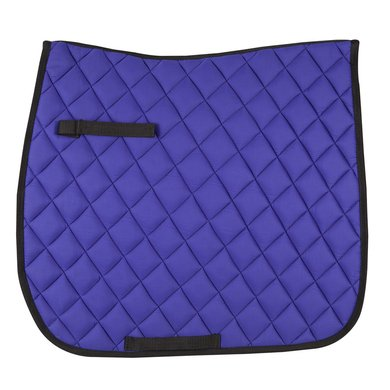 Pfiff Dressage Saddle Cloth Basic Line Blue