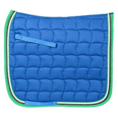 Pfiff Dressage Saddle Cloth Murau Blue Full