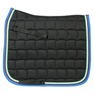 Pfiff Dressage Saddle Cloth Murau Black Full