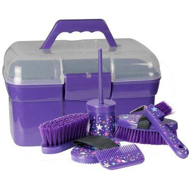 Pfiff Grooming Box Magical Stars Purple