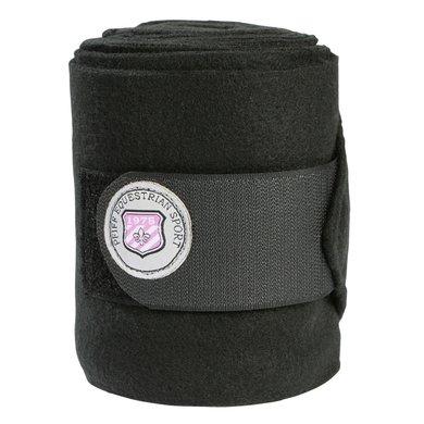 Pfiff Fleece Bandages Logo Black