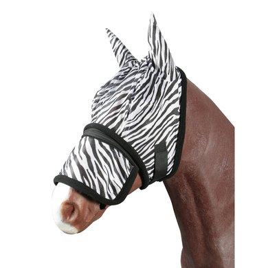 Pfiff Fly Mask Zebra Black/White