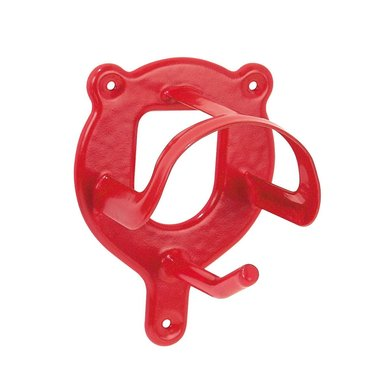 Pfiff Bridle Bracket Pvc Coated Red