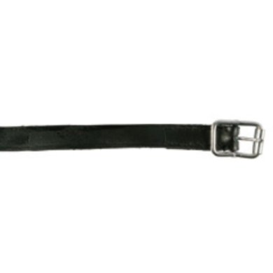 Pfiff Leather Spur Straps Black