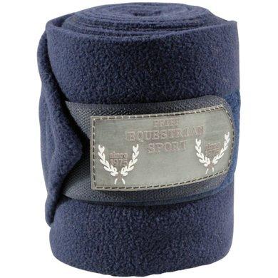 Pfiff Fleece Bandages Polo Blue