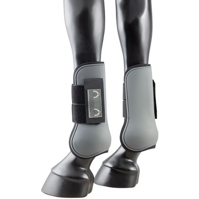 Pfiff Hard Shell Tendon Boots Grey Full