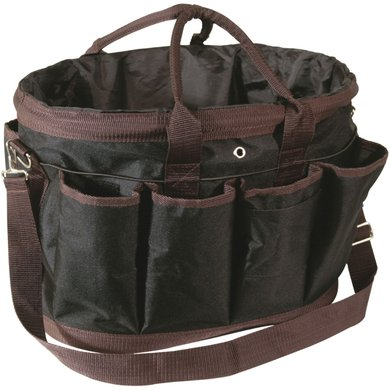 Pfiff Large Grooming Bag Black Brown