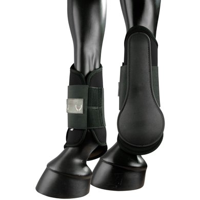 Pfiff Soft Tendon Boots Fixed Inner Hind Black