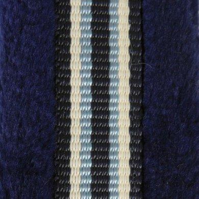 Pfiff Halster Gevoerd Blauw/Lichtblauw