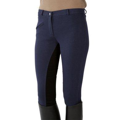Pfiff Rijbroek Volledig Versterkt Zitvlak Blauw/Zwart