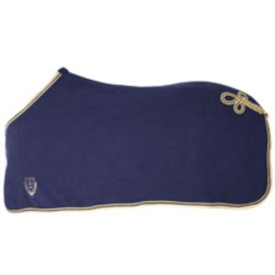 Pfiff Exclusive Fleece Rug Cord Blue