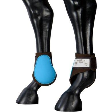 Pfiff Fetlock Boots Turqoise-Brown