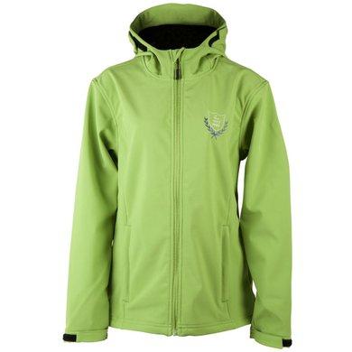 Pfiff Softshell Jacket Townsville LightBrown/Light Green
