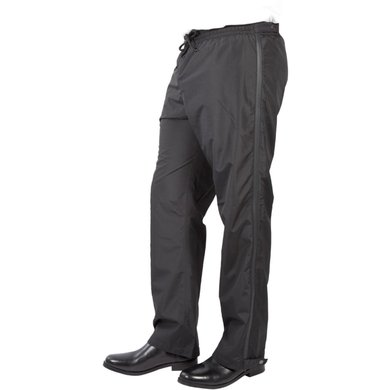 Pfiff Rain Over-trousers Black 146/152