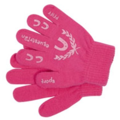 Pfiff Childrens Gloves Print Pink Rose