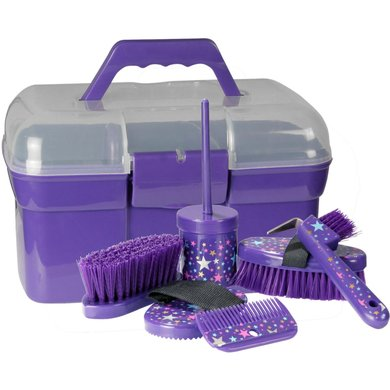 Pfiff Grooming Box Magical Stars Purple