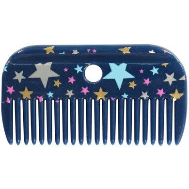 Pfiff Mane Comb Magical Stars Blue