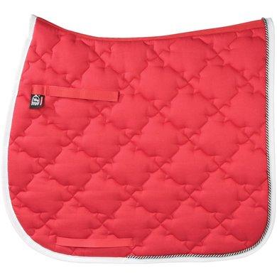 Pfiff Dressage Saddle Cloth New Luxus Red Full