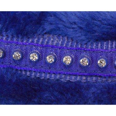 Pfiff Licol Livorno Coton Bleu Poney