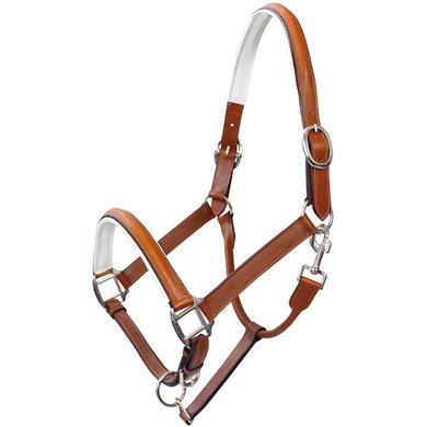 Pfiff Leather Halter Brown-White