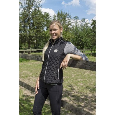 Pfiff Quilted Jacket Gympie Black
