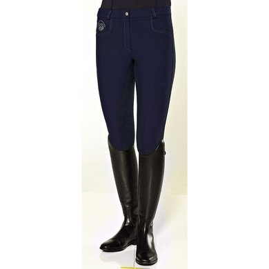 Pfiff Full Seat Breeches Birthe Blue