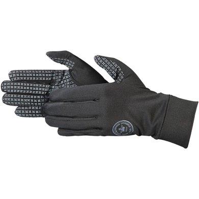 Pfiff Softshell Riding Gloves Black