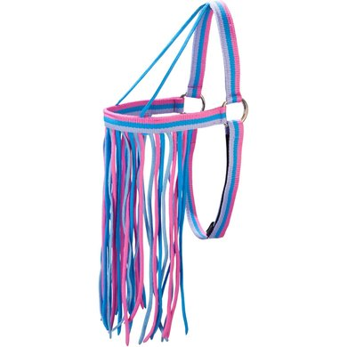 Pfiff Fly Fringe Grey/blue/pink