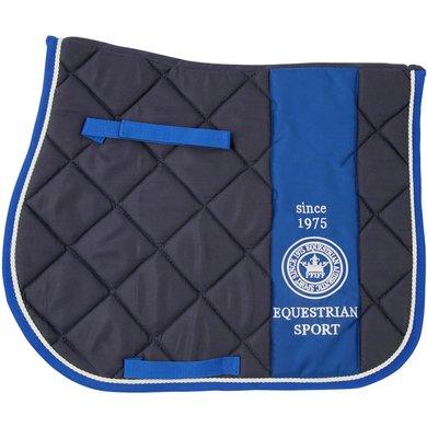 Pfiff All Purpose Saddle Cloth Grein Blue Full