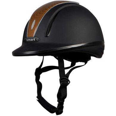 Pfiff Riding Helmet 30014 Black/Light brown