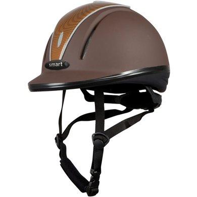 Pfiff Riding Helmet 30014 Brown/light brown