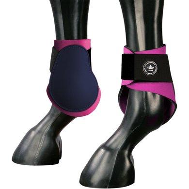 Pfiff Fetlock Boots Palena Blue-Pink