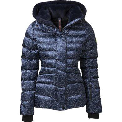 PK International Jacket Catano Dress Blue Print XXL