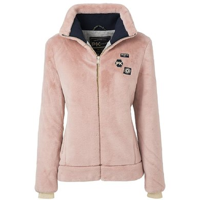 PK Fluffy Jacket Jagger Blush