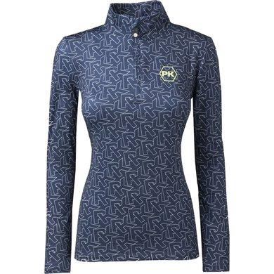 PK Shirt Mytens Dress Blue XS