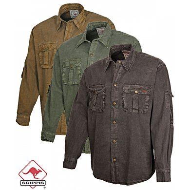 Scippis Hobart Shirt Khaki