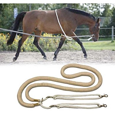 Rider Pro Lunging Line Black Full
