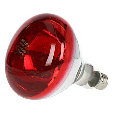 Philips Warmtelamp 250w Rood
