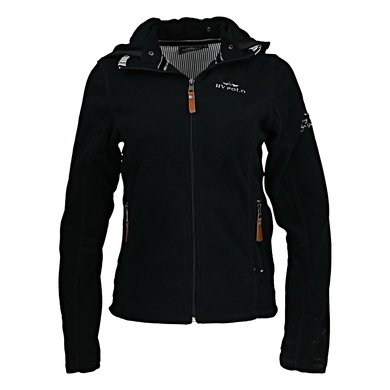 HV Polo Jacket Clarinda Fleece Schwarz XS