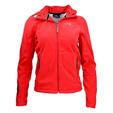 HV Polo Jacket Clarinda Fleece Scarlet XS
