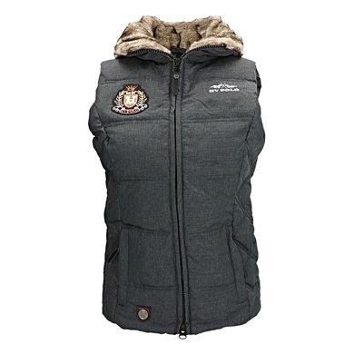 HV Polo Bodywarmer Nieve Dames Charcoal Melange XS
