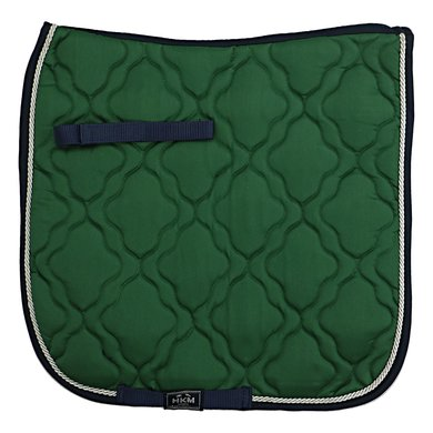 HKM Saddle Clothequestrian Green/NavyBlue