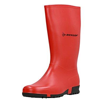Dunlop Sportlaars Pvc Rood
