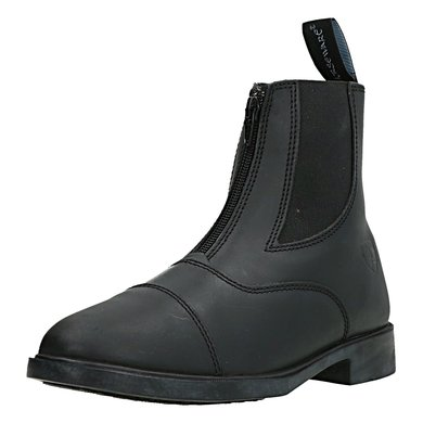 Horseware Short Zip Boot Leather Dames Black 38