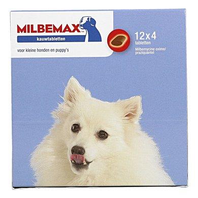 Milbemax Hond Klein Chewy 48 Tabl. <5kg