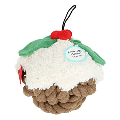 Happy Pet Knottie Head Kerst Pudding Supersize