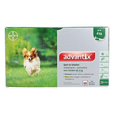 Advantix 40/200 Spot-On Hond <4kg